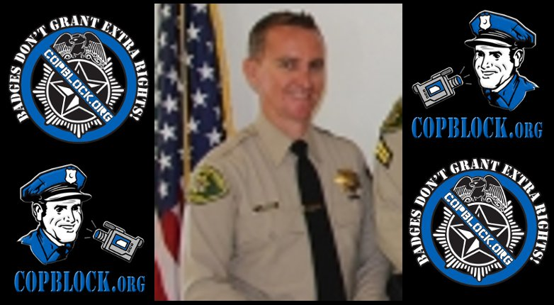 Tyrant Detective Jarrett Morris of the Santa Barbara Sheriff's Office Abuses Elderly, Disabled Man